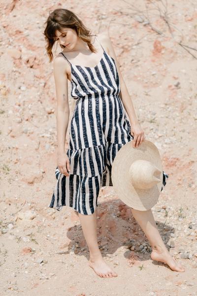 Voloshin The Margo Tiered Draw-String Slip Dress.jpg
