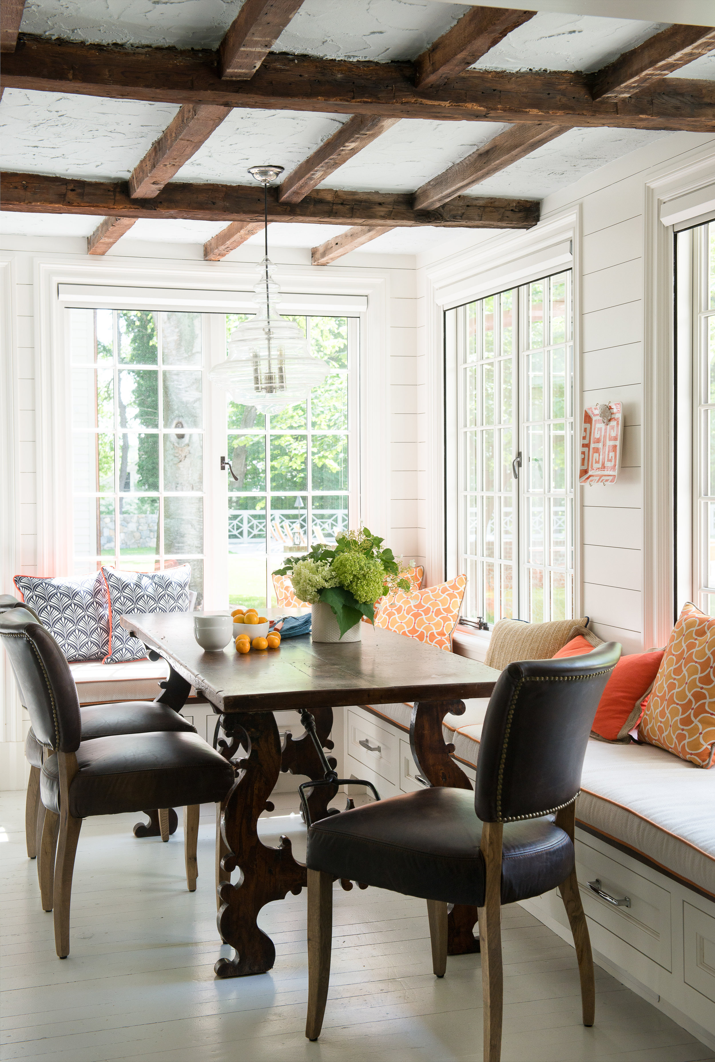 Renovated dining room in Fairfield County