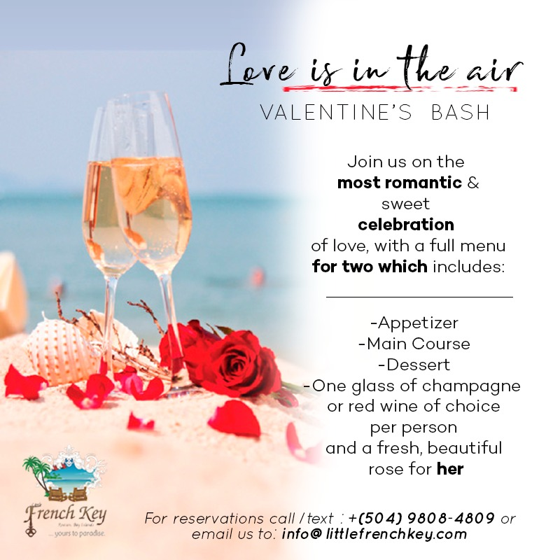 Valentines Day in Roatan