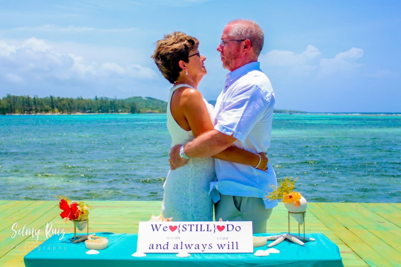 Vow Renewal at Little French Key