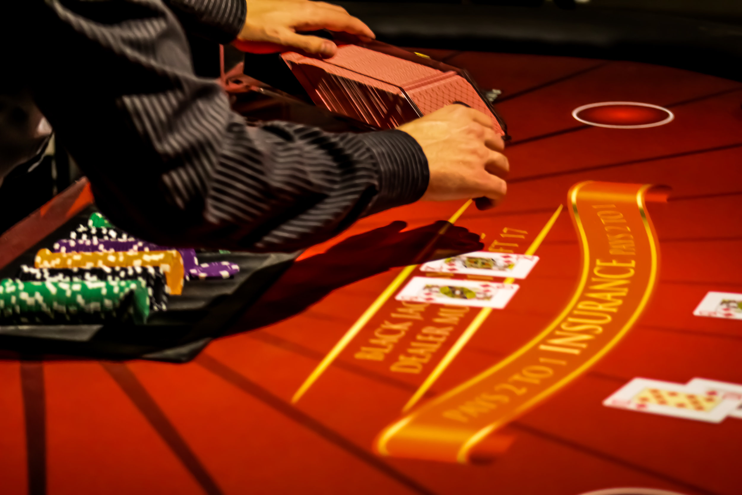 Social Event - Make your next celebration a memorable casino night!