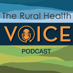 The Rural Health Voice Podcast Logo