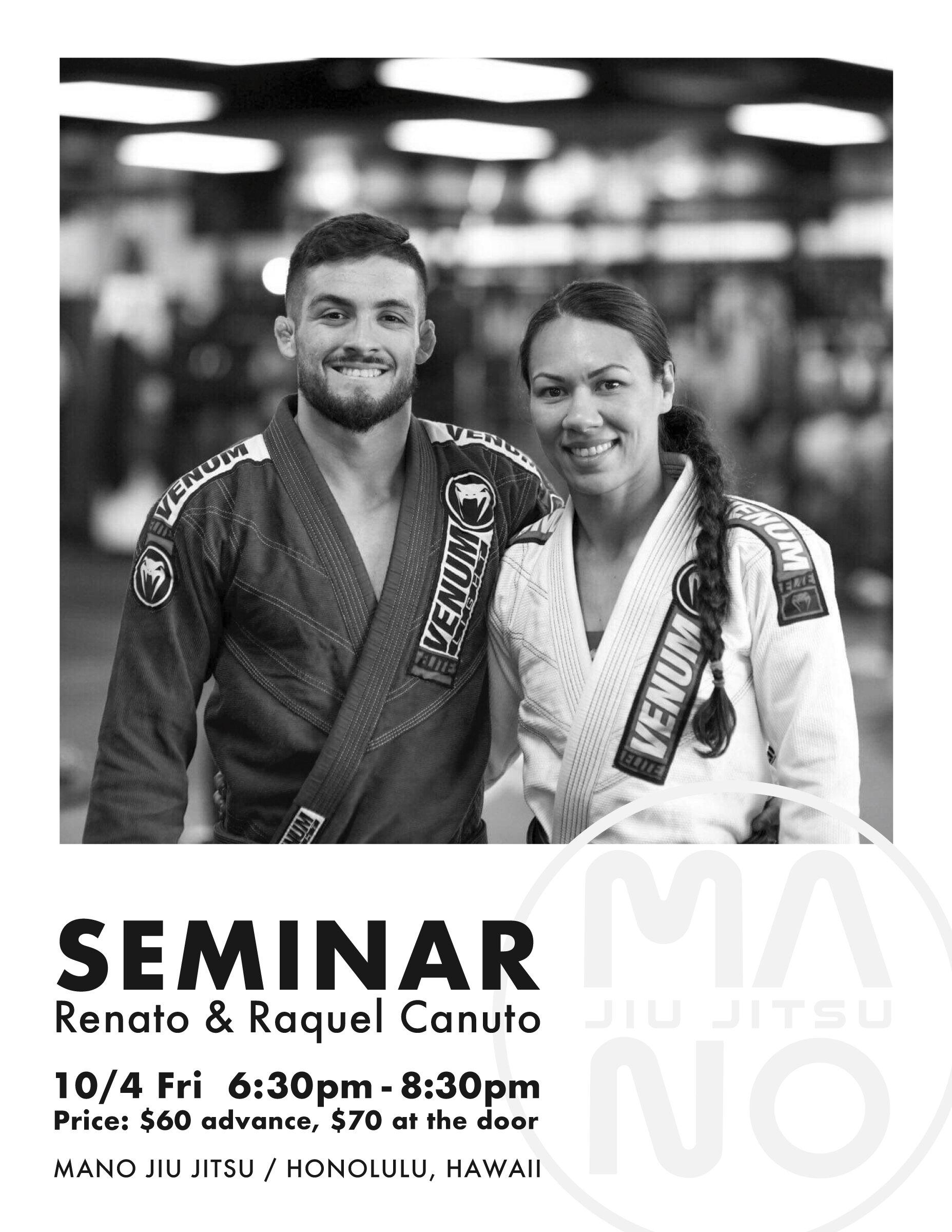 renato raquel canuto seminar poster