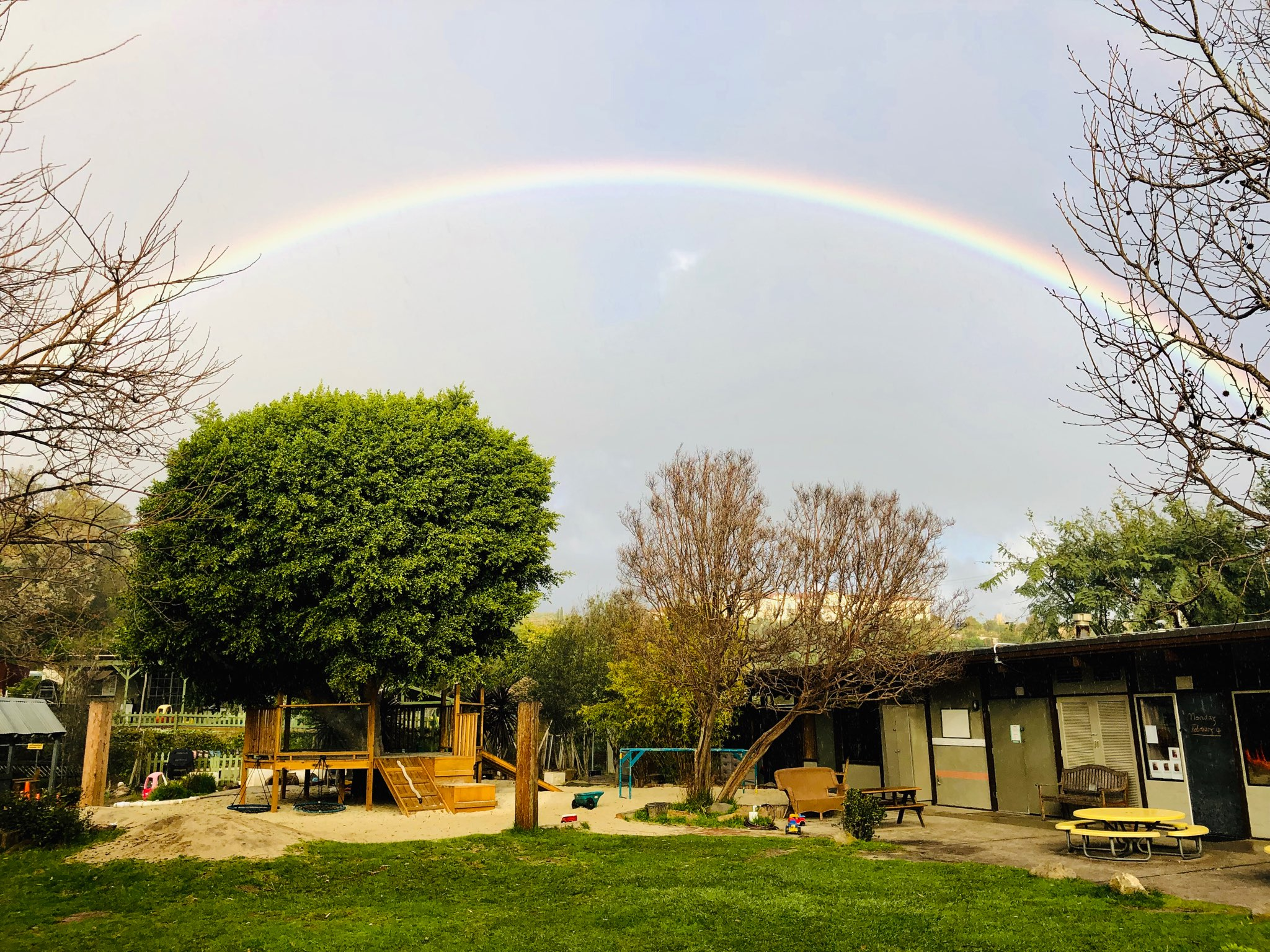 MALIBU METHODIST NURSERY SCHOOL Playground Rainbow.jpg