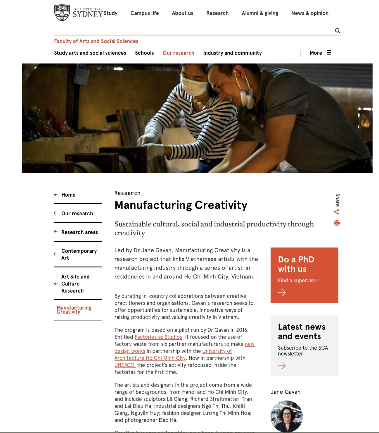 Manufacturing Creativity -