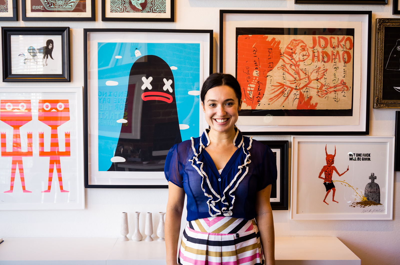 Spaces: The Offices of Sonja Teri's Poster Child Prints -