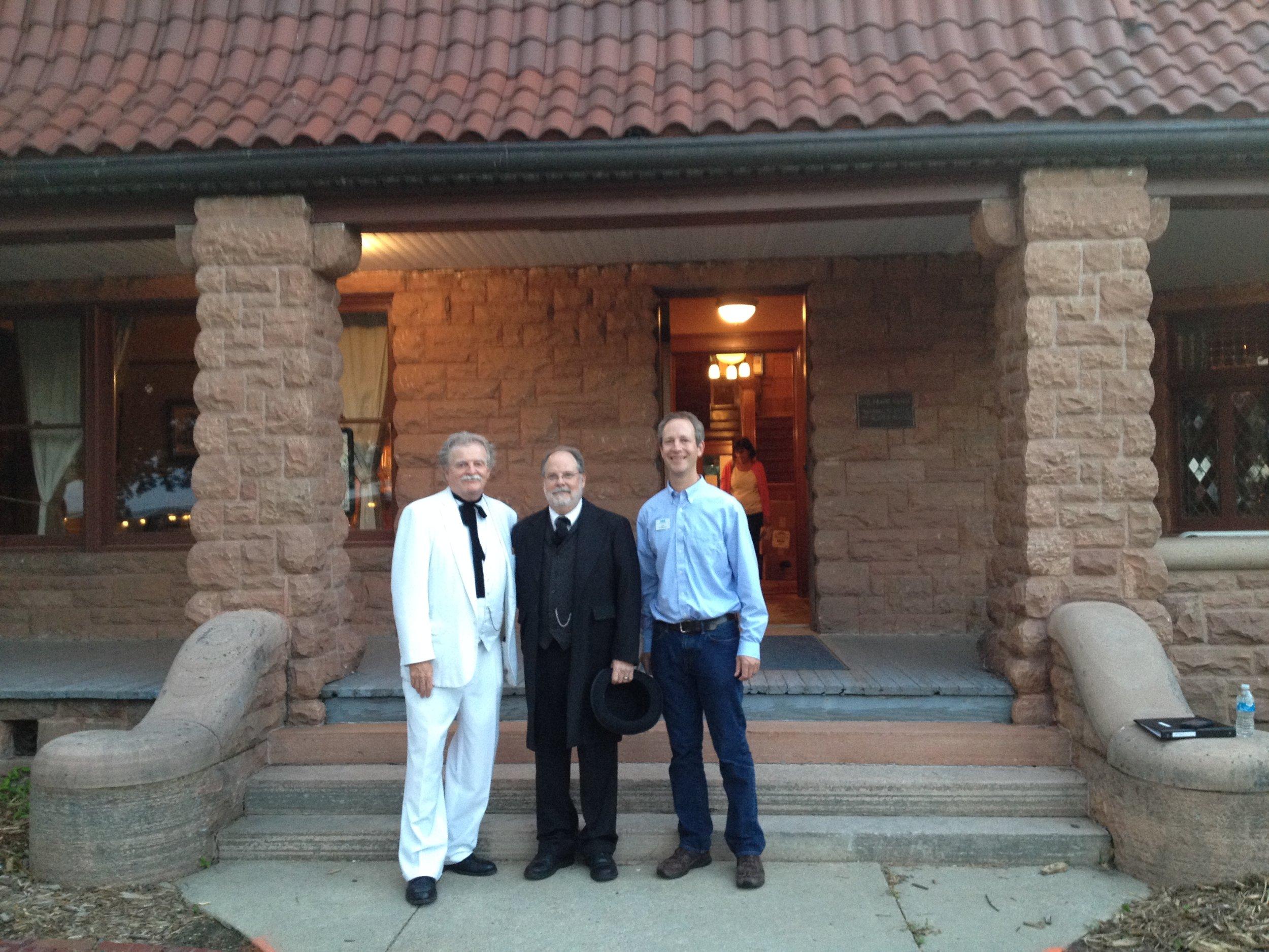 7.8.15 Frank House Chris Tom King Pres Grant IMG_2416.jpg