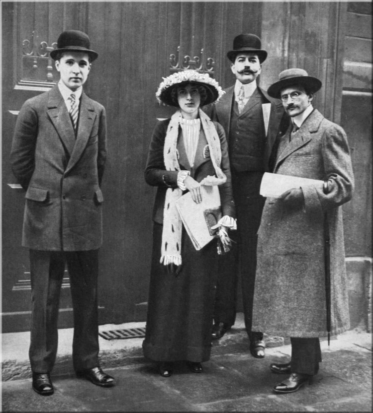 with the finalists of the Prix de Rome Competition, 1913