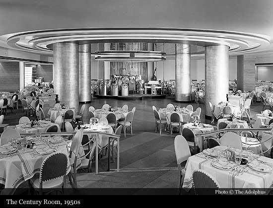 The Century Room 1950s