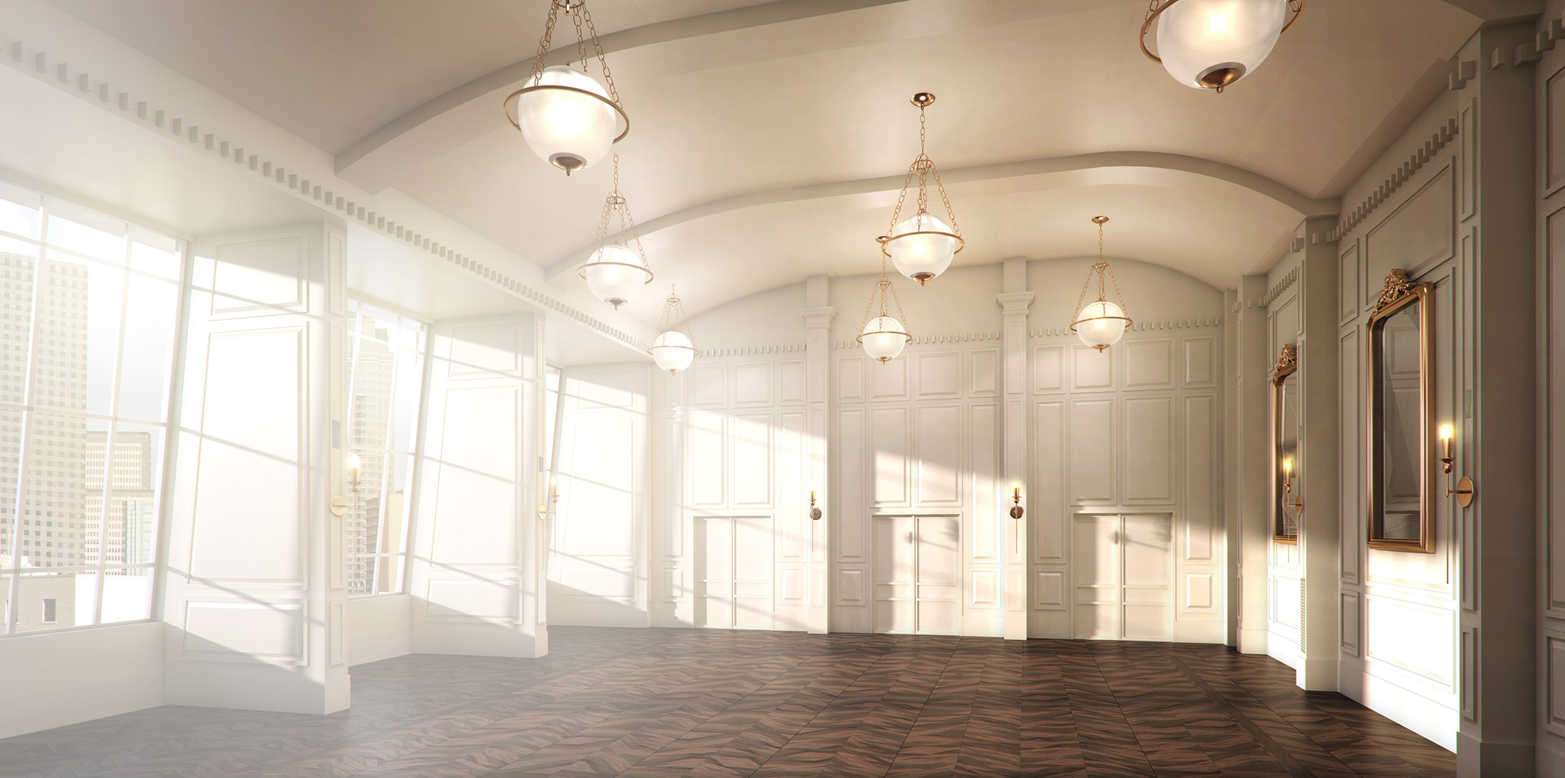 The 19th floor ballroom today