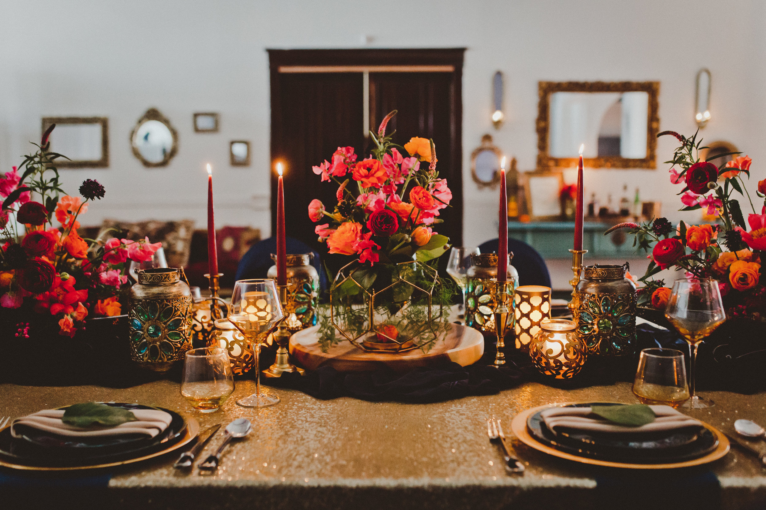 Moroccan Magic - Shot at Studio 96 in Edmonton, this enchanting photo shoot has rich colours and a distinctly vintage feel.View Gallery>Published in: Blush Magazine
