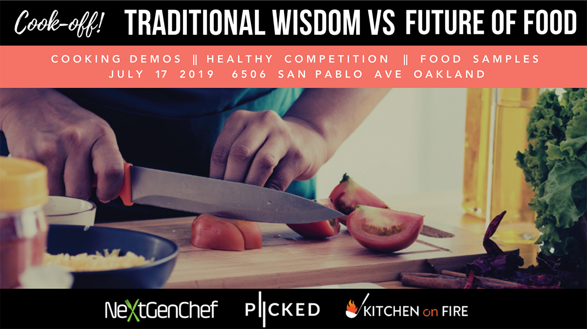 - We're pleased to present Traditional Wisdom vs Future of Food, a cook-off that pits two teams that represent healthy cooking inspired by the past and future.Join us for a fun night of healthy competition, learning, and fun!