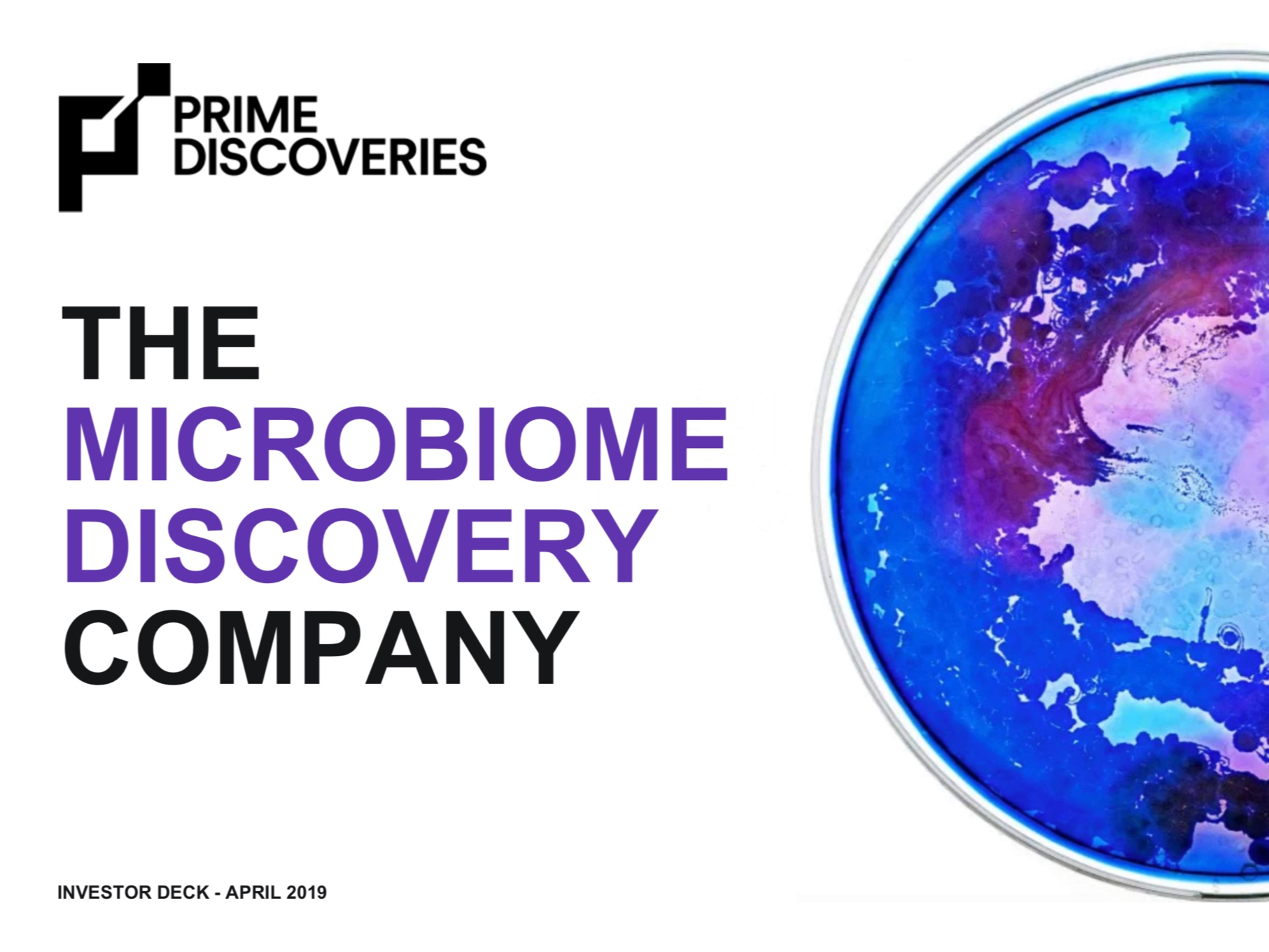 Prime Discoveries Deck -