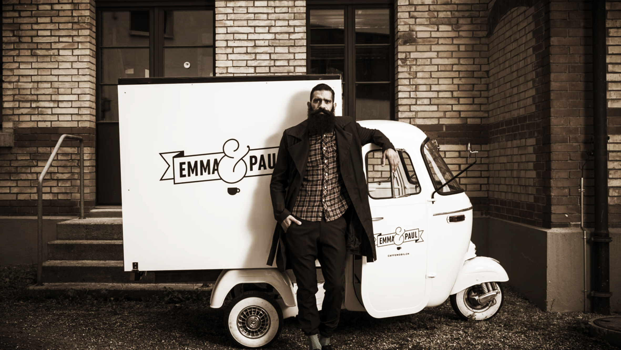 EAT & DRINK_  EMMA & PAUL.  #Coffee #Cappucino #BestinTown #Caffemobil #Hipster   http://caffemobil.ch