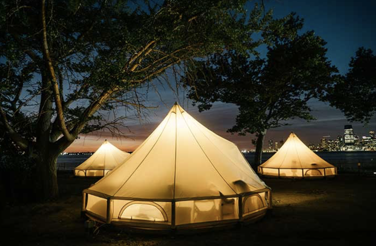SLEEP_  COLLECTIVE RETREAT.  #Tent #OpenSky #Outdoor #Island #NewYork #Hippie #CollectiveRetreat   https://www.collectiveretreats.com