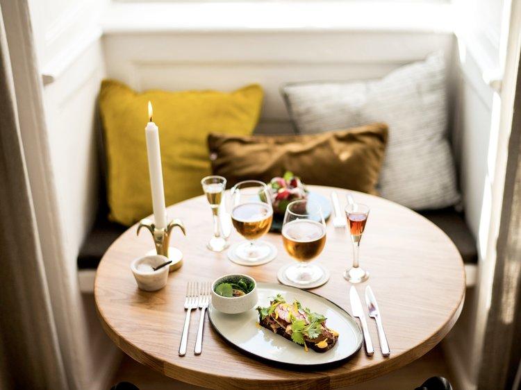 EAT & DRINK_  KOMPASSET.  #Smorebrod #Design #Kompasset  https://www.restaurantkompasset.dk
