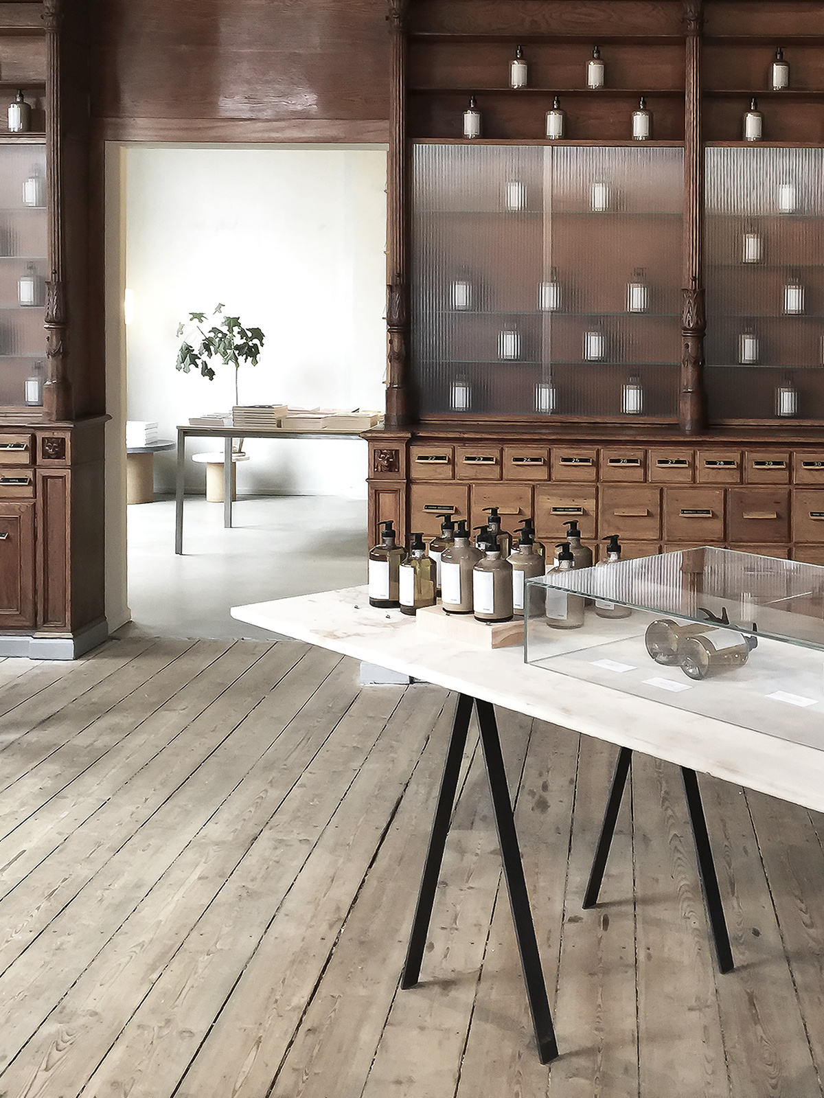 DESIGN_  FRAMA.  #Pharmacy #Lotion #Furniture #Soap #Interiors    https://framacph.com