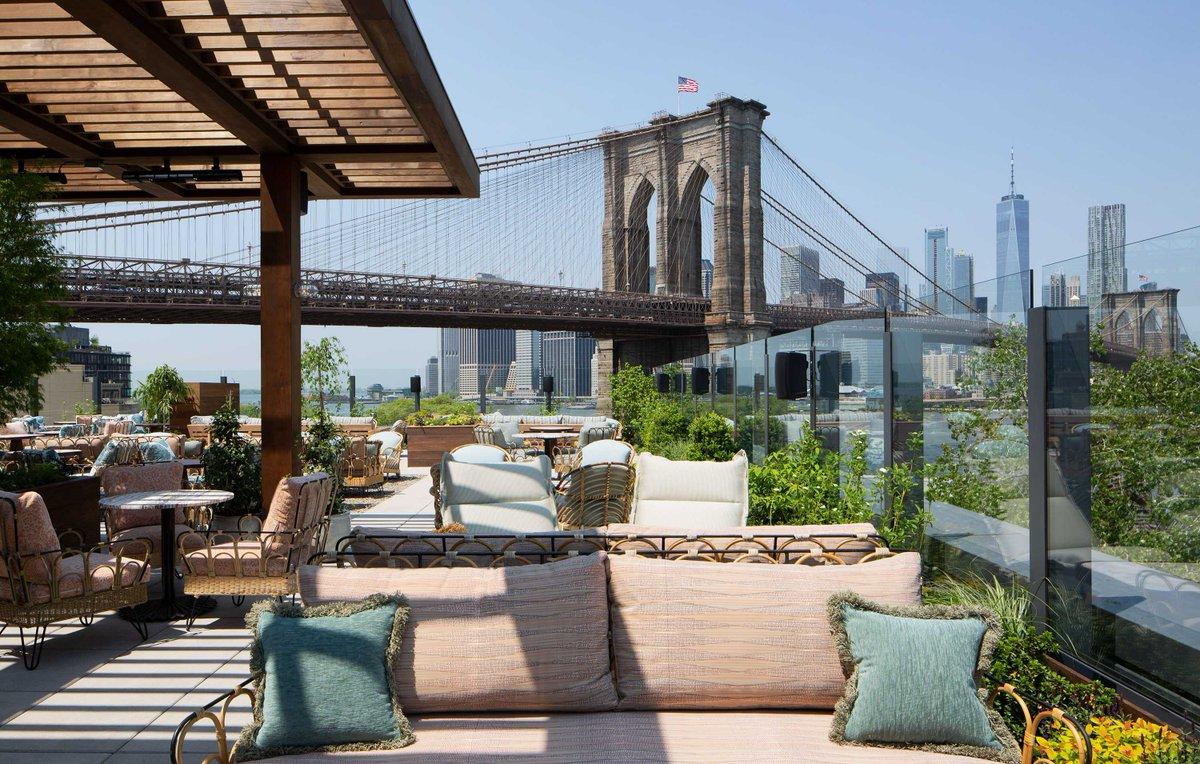 BAR & CLUB_  DUMBO HOUSE.  #SohoHouse #Club #Brooklyn #View #Pool   https://www.publichotels.com