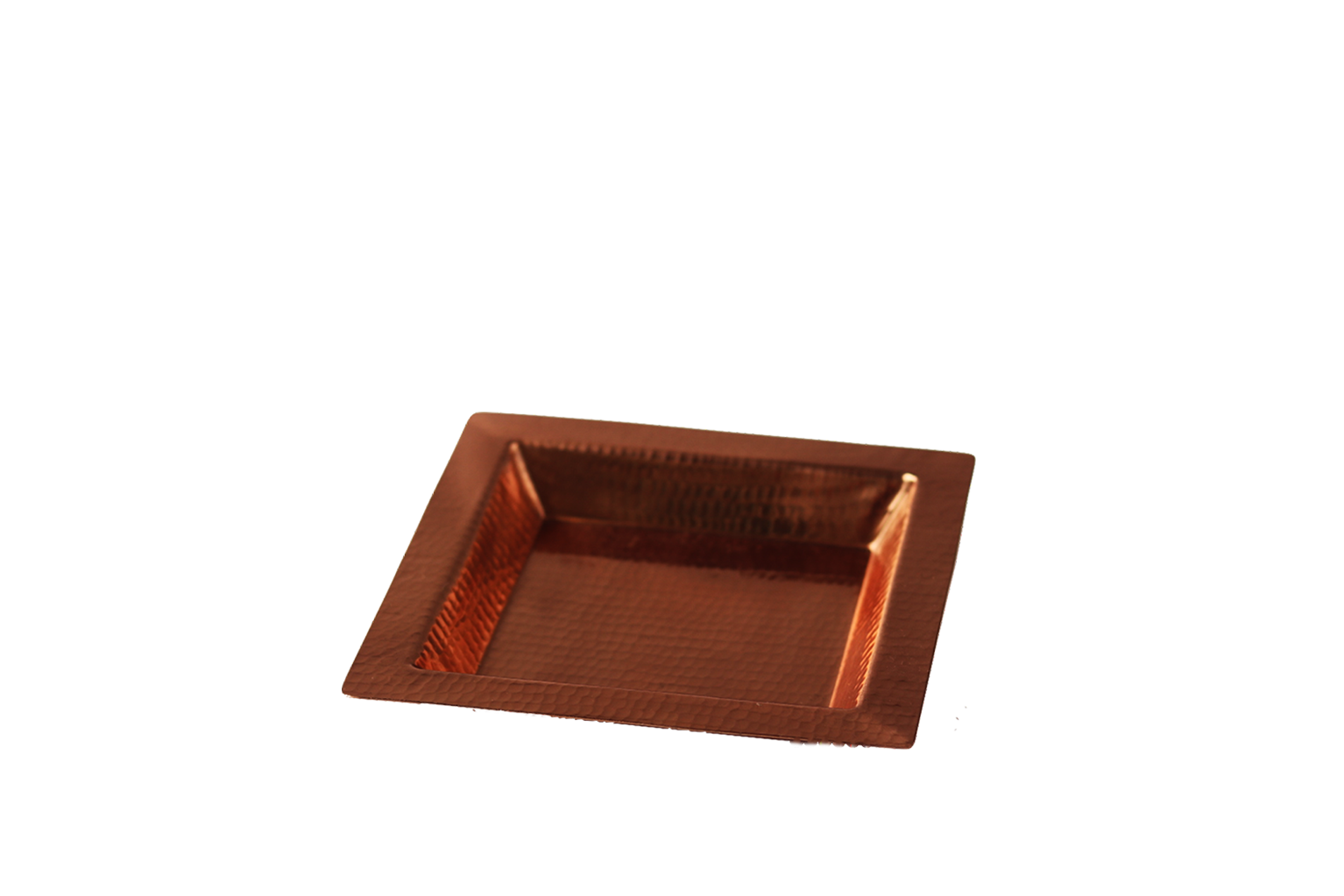 Copper Square Platter - S$50