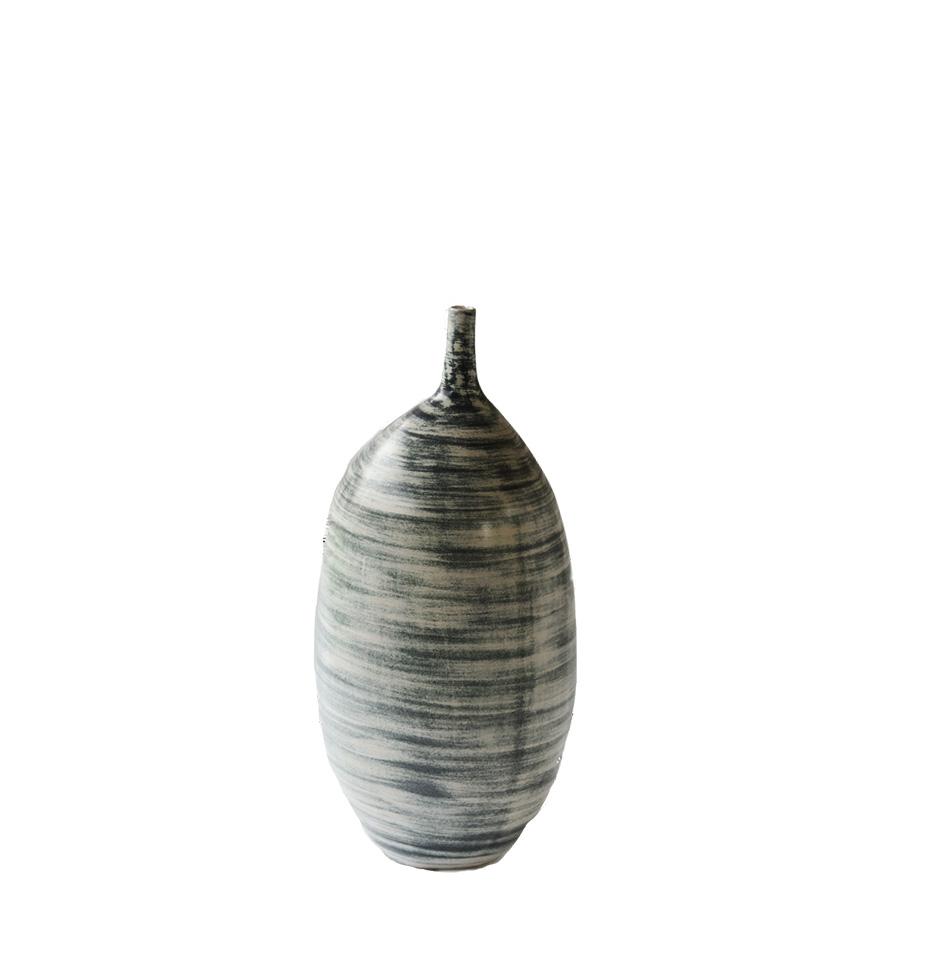 Tall Abstract Ceramic Vase - S$295