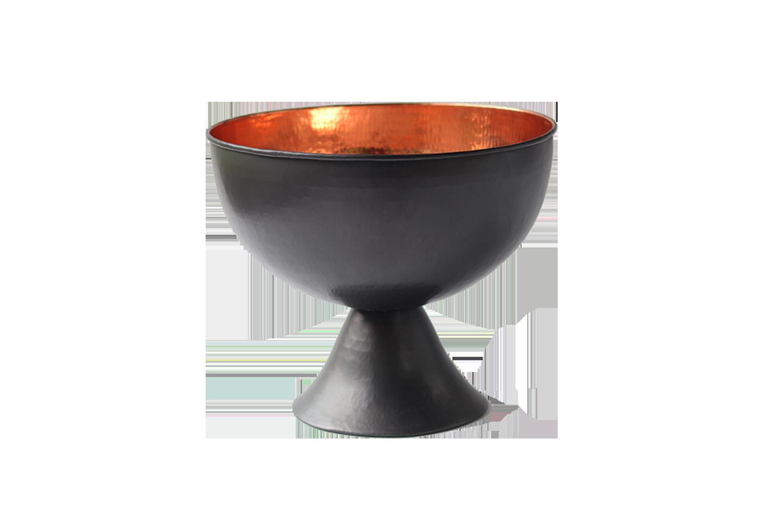Black Copper Ice Bucket - S$250
