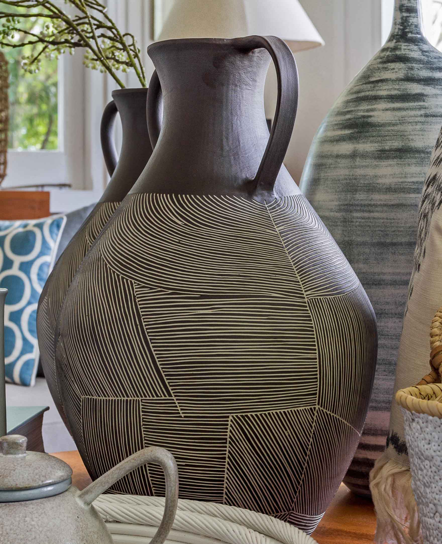 Beautiful Vase - Designed and made entirely by hand on the island of Bali using a combination of traditional and modern techniques, these beautiful vases have been made to last a lifetime.