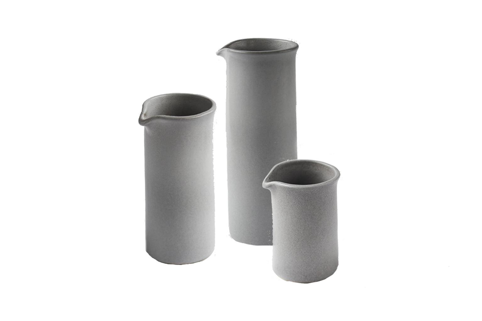 Set of 3 Minimalist Ceramic Jugs - S$150