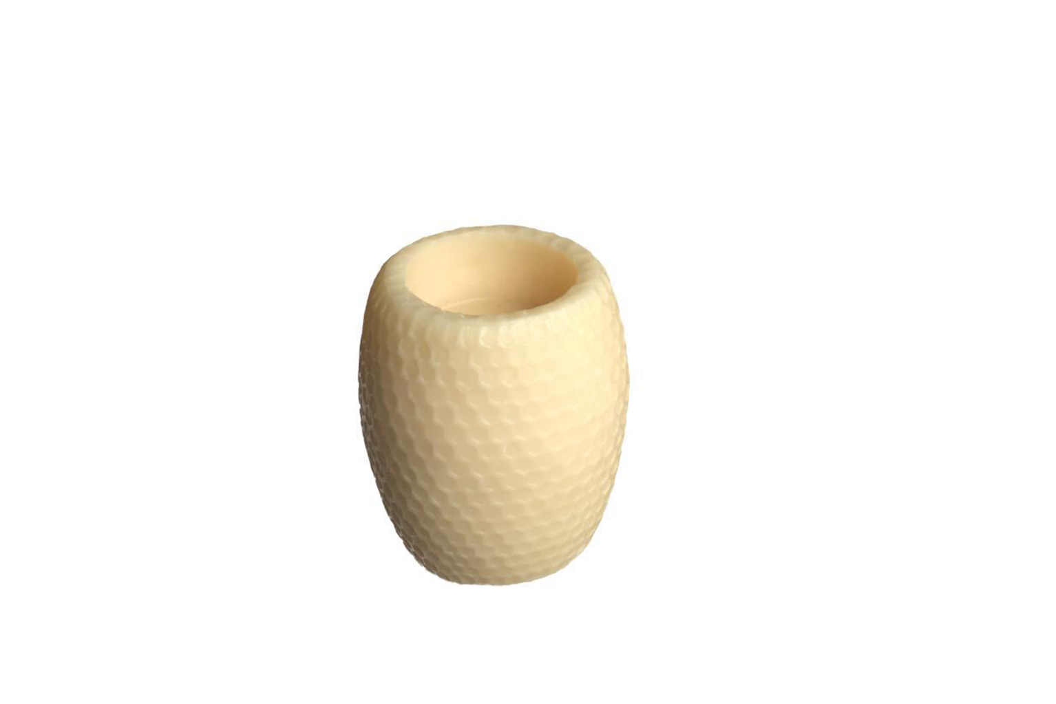 Honeycomb Hurricane Beeswax Candle - Small - S$35