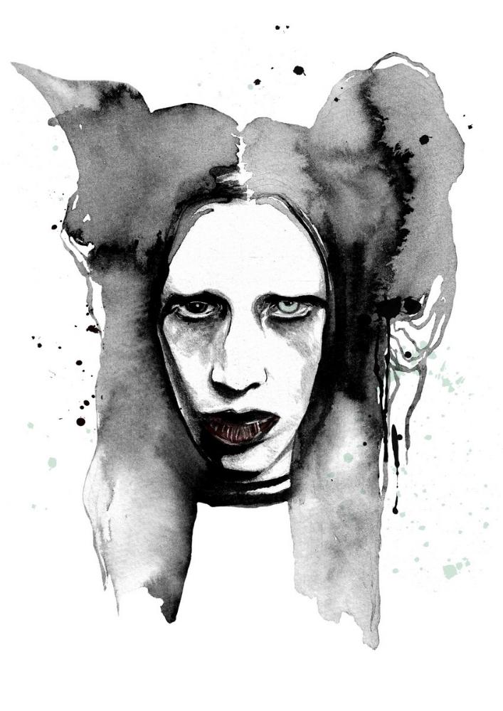 Marilyn Manson by anca pora