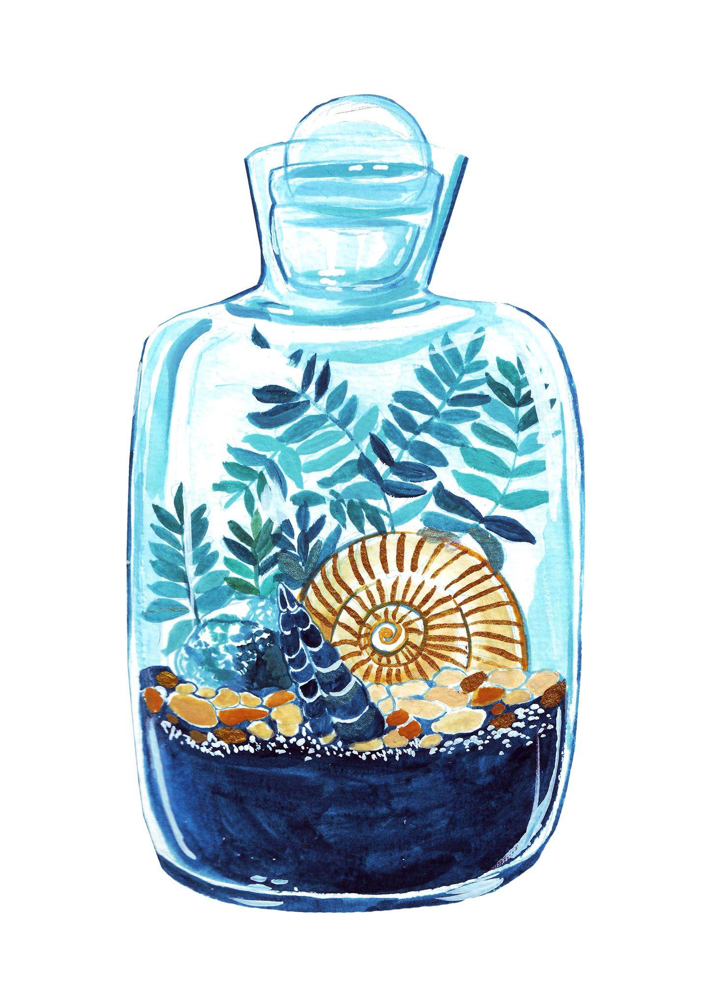 Terrarium Jar by Anca Pora
