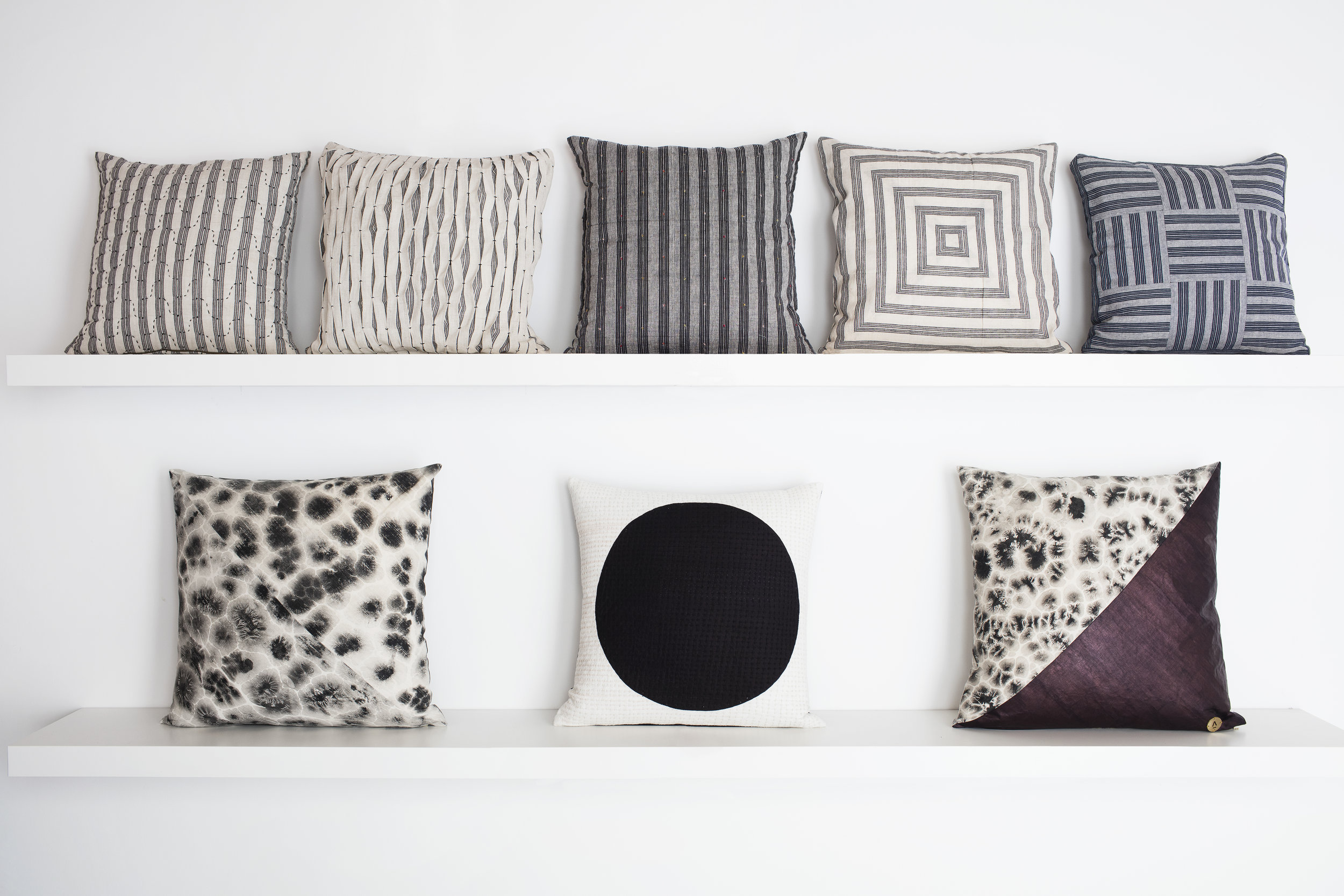 Dali pillow designs and  TERRAIN  products together.