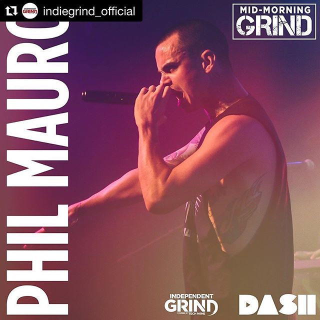 Catch my interview on @dashradio tomorrow am with @indiegrind_official 🤘  #Repost @indiegrind_official ・・・ Fresh off @maydaymusic's #southof5thtour @philmauromusic joins us for an interview!  Tune in tomorrow at 11 AM CST only on @dashradio