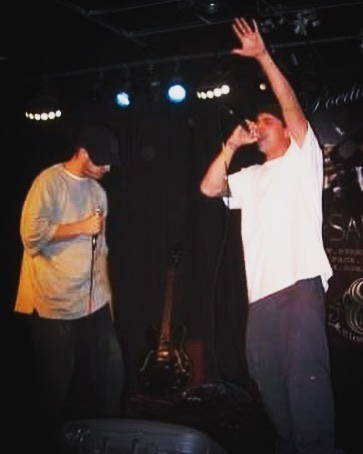 Circa 2009. One of my first solo rap shows in CO. Can't wait to see where I'm at in 9 more years.. 🤘 #tbt #throwbackthursday