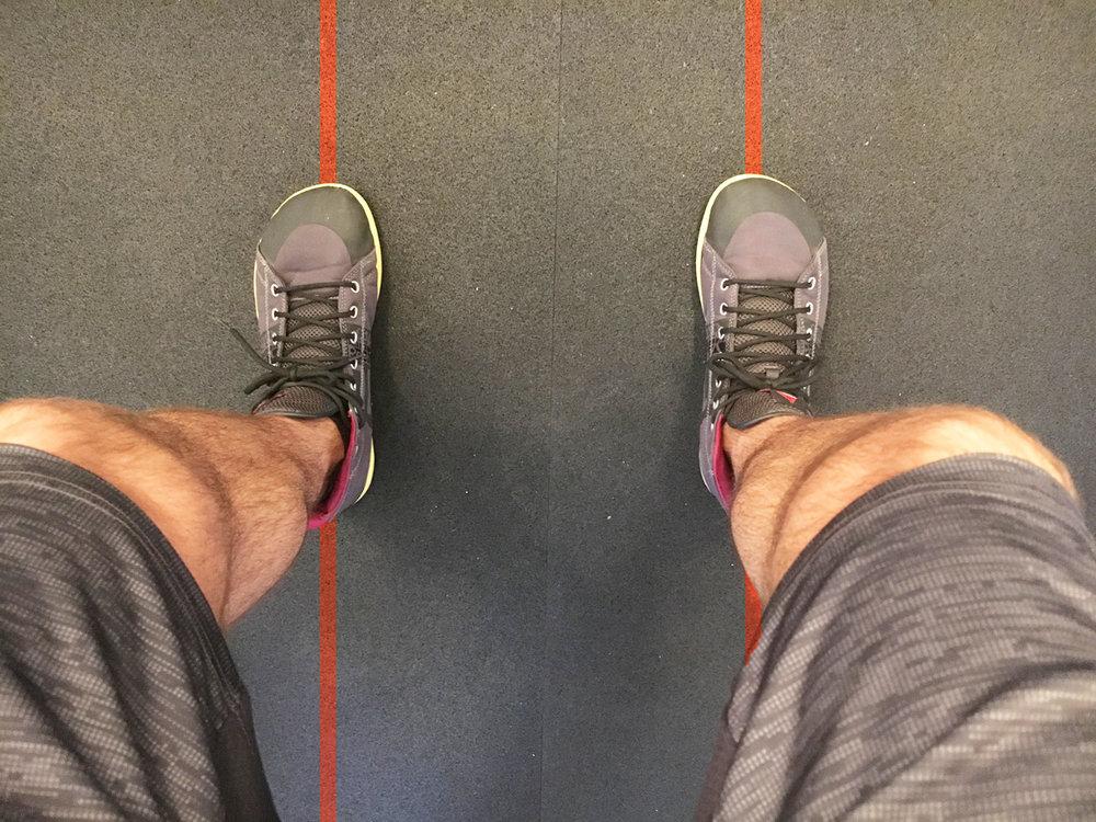 Foot Position: Zero Degrees