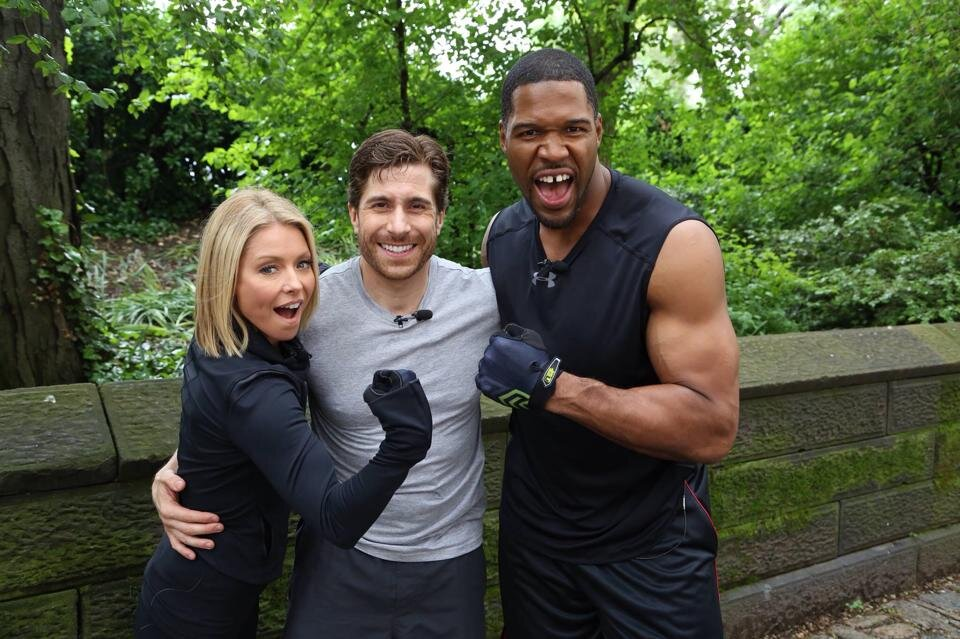 2014 - Adam appears on the Live With Kelly and Michael Show as one of the top 5 fitness instructors in the country.