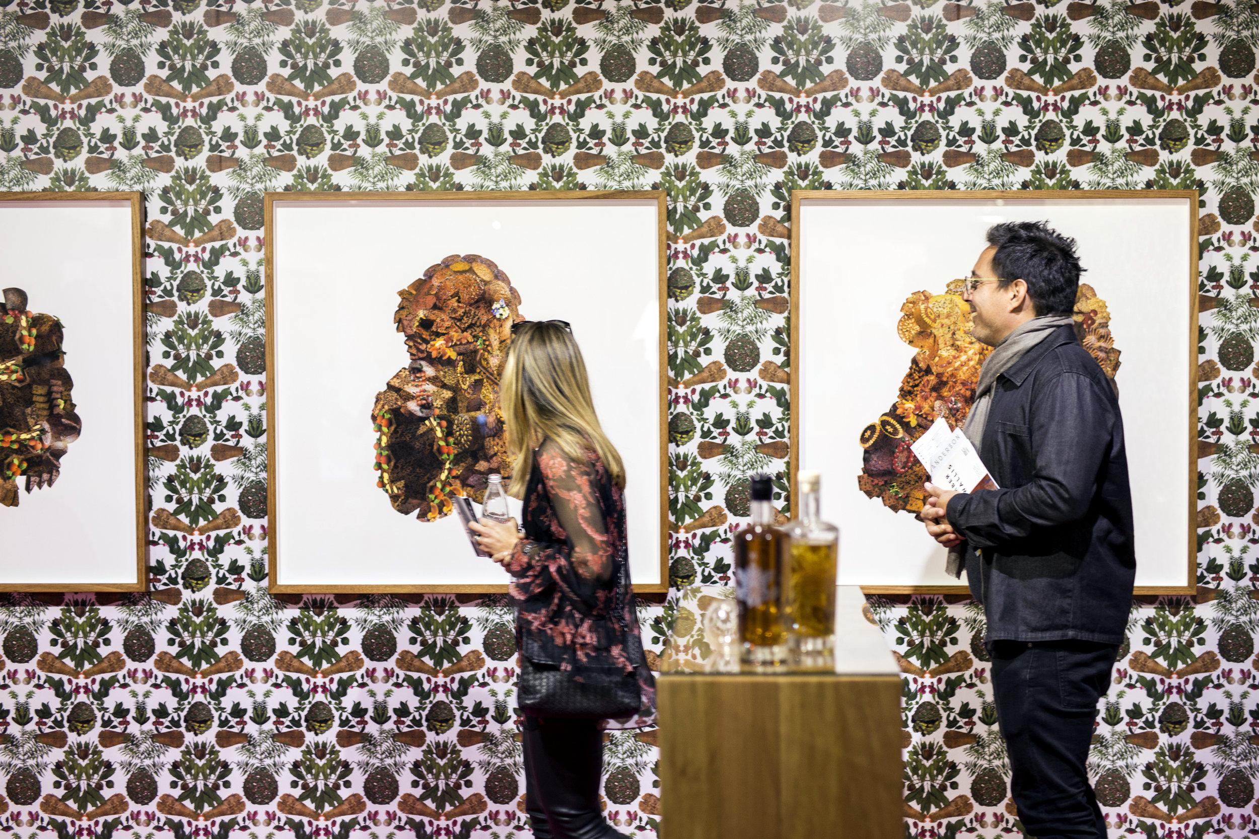 Elizabeth Willing, Tolarno Galleries, Melbourne Art Fair, 2018. Photographer Michaela Dutková.