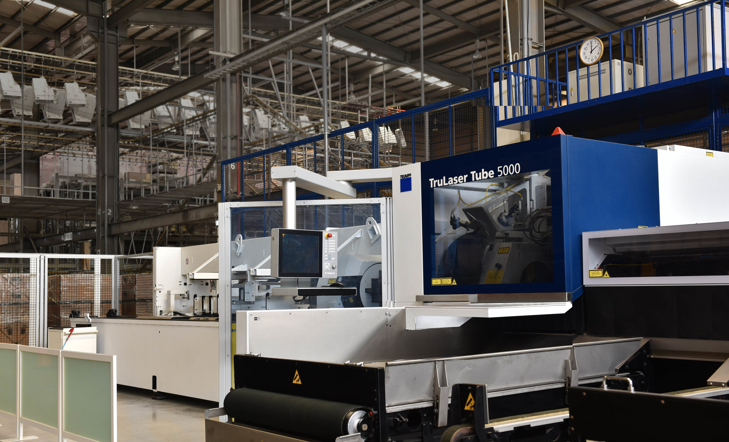 3D Laser Cutting Machine - 3D laser cutting machine allows us to achieve manufacturing precision and undercut angles.