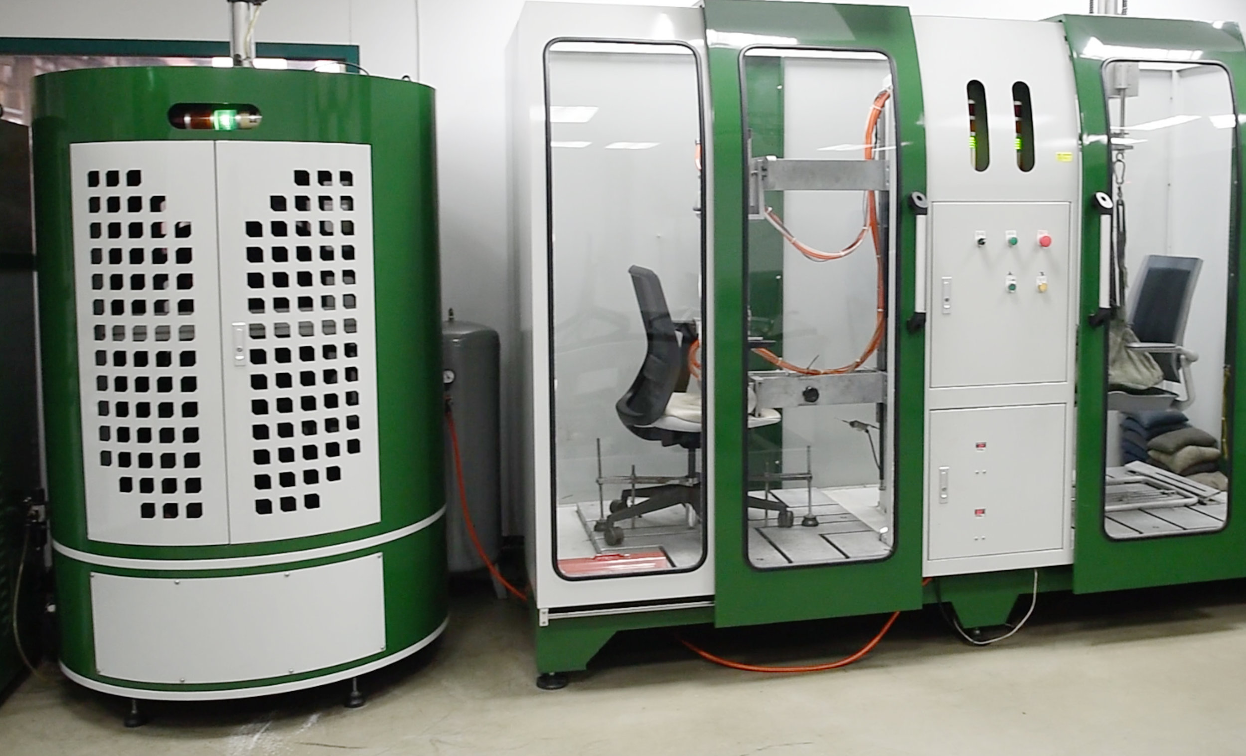 In-House Lab - We have an in-house lab facility which we use to test prototype structure and check product quality during production.