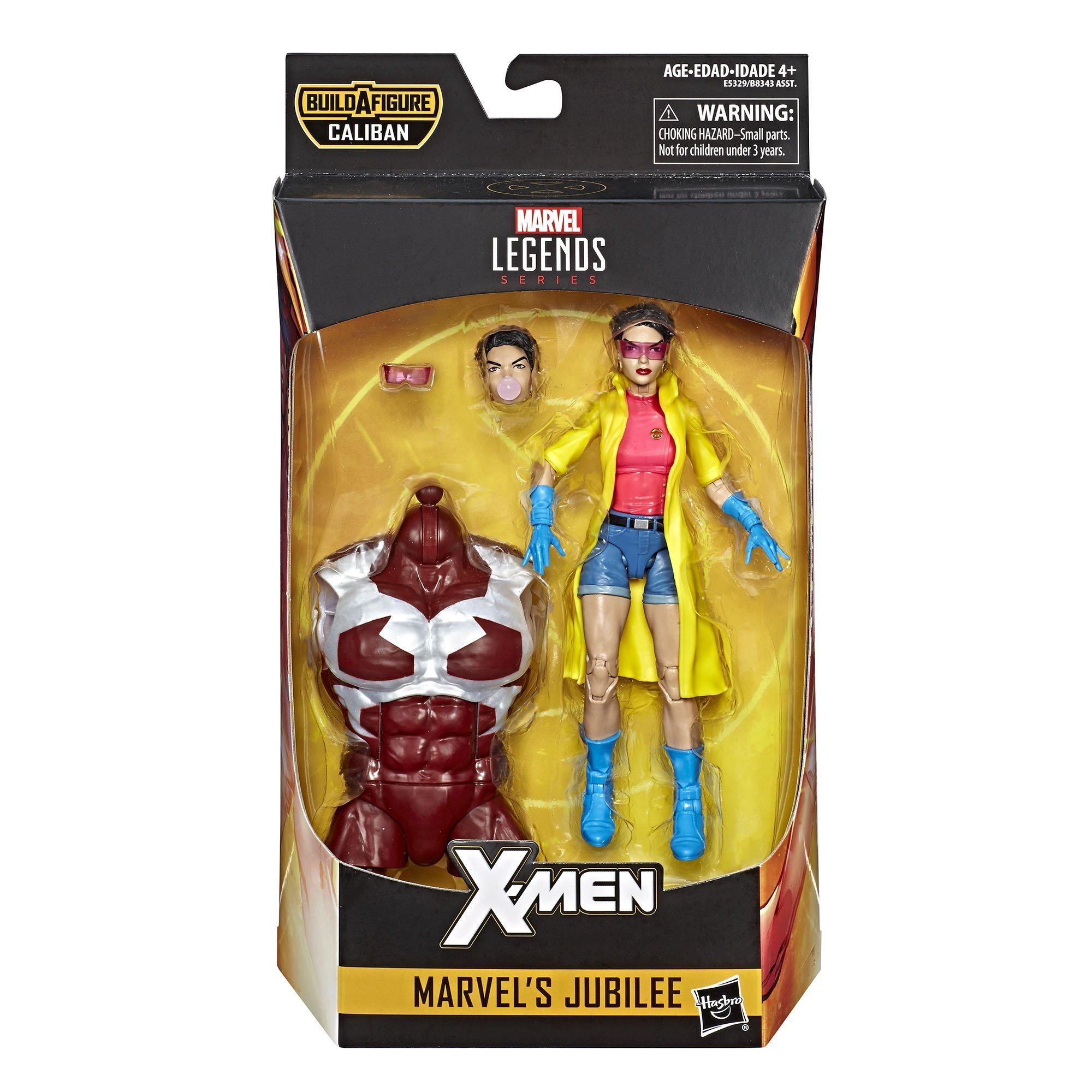 X-Men Marvel Legends Beast Wave 4 Caliban BAF