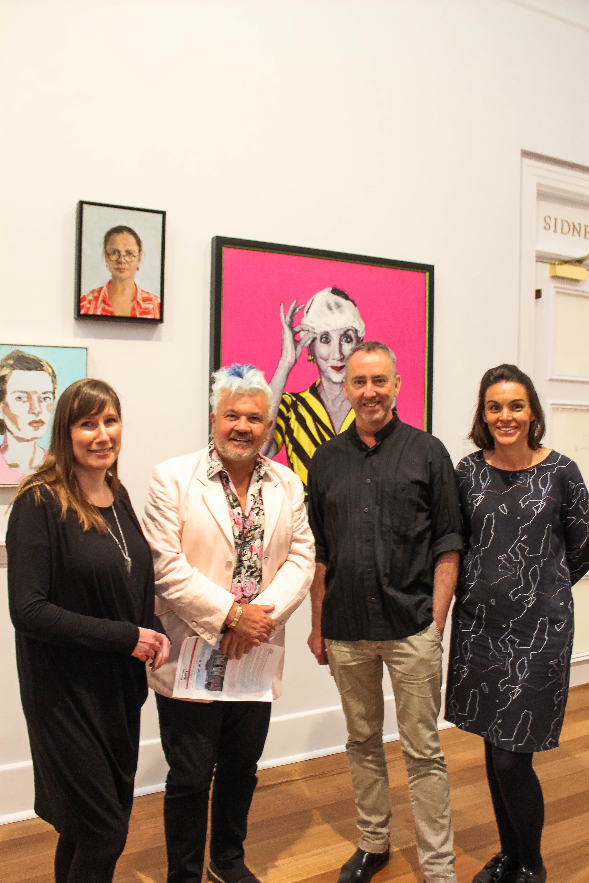 Darryn and the team from Geelong Gallery