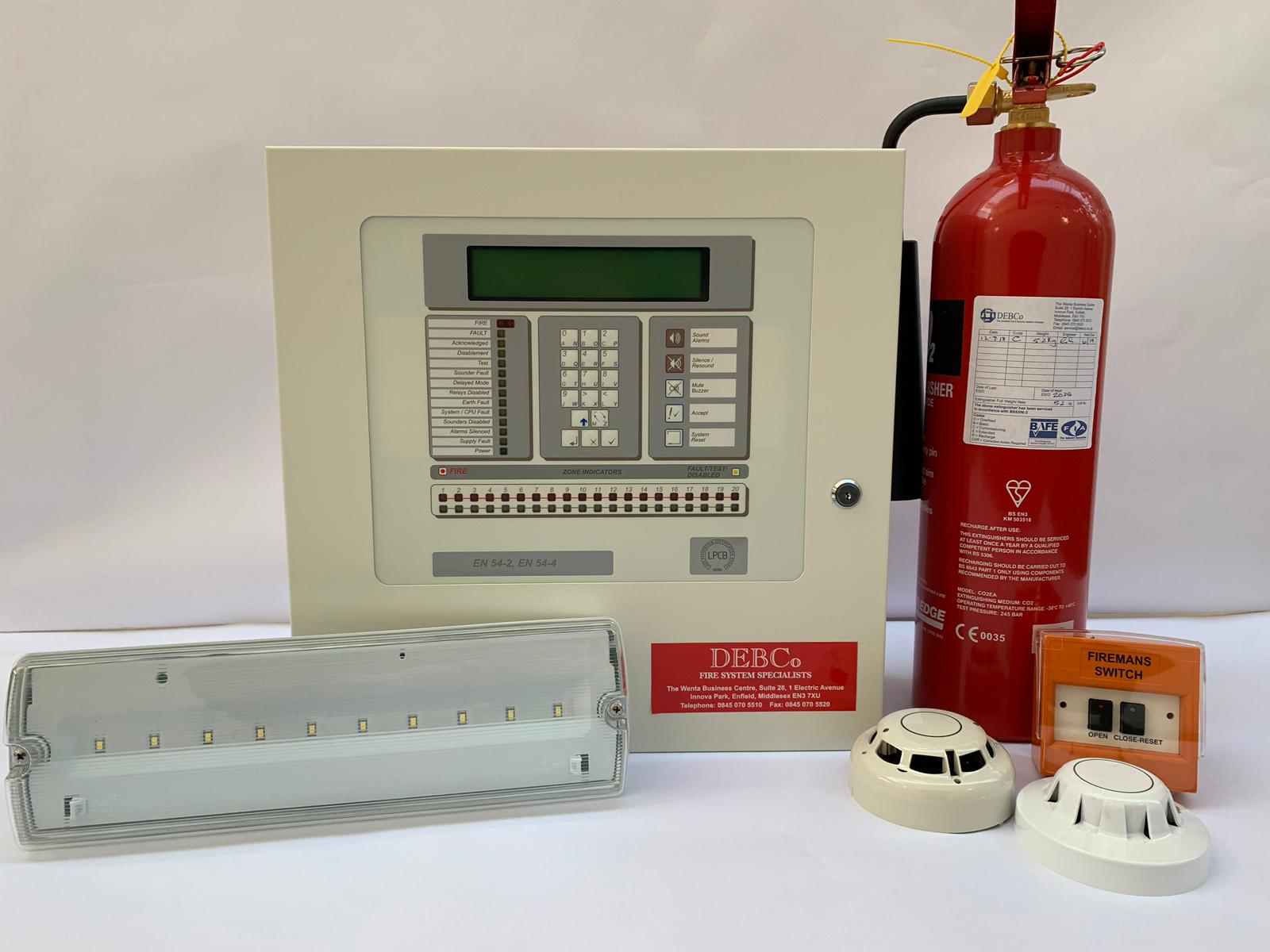 Fire System Specialists - Our dedicated engineers can support you with the design, installation and maintenance of new or existing fire alarms and extinguishers.