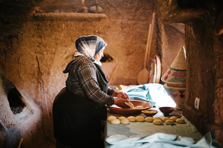 bakery, asni, morocco