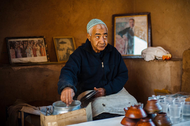 soup vendor, marrakech, morocco