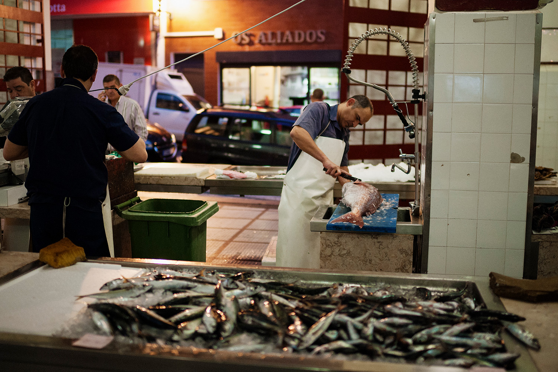 fish market, funchal, madeira