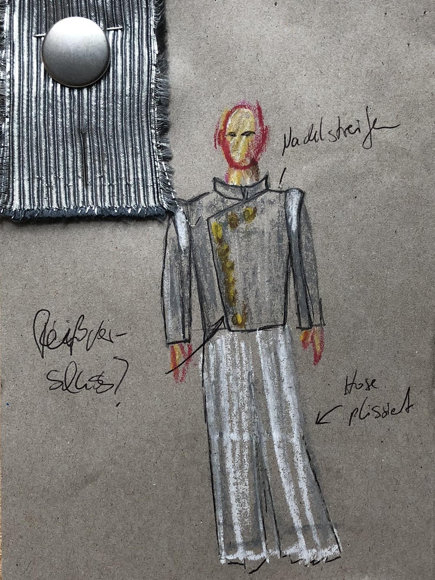 Kostümentwurf