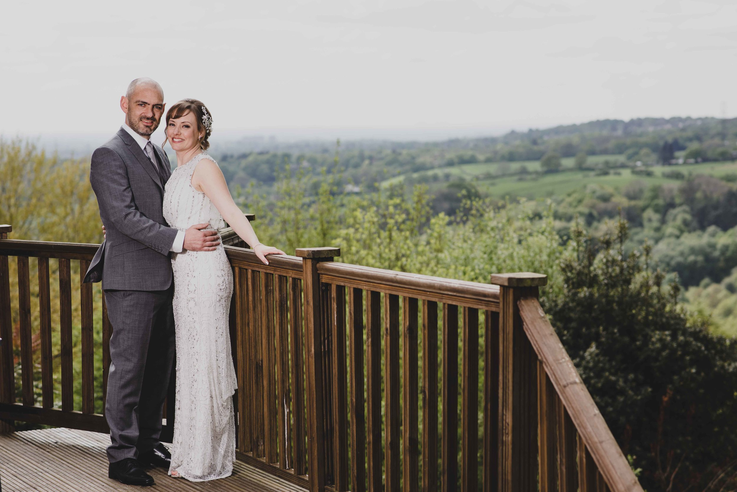 The stunning backdrop afforded by this amazing location is perfect for couple portraits