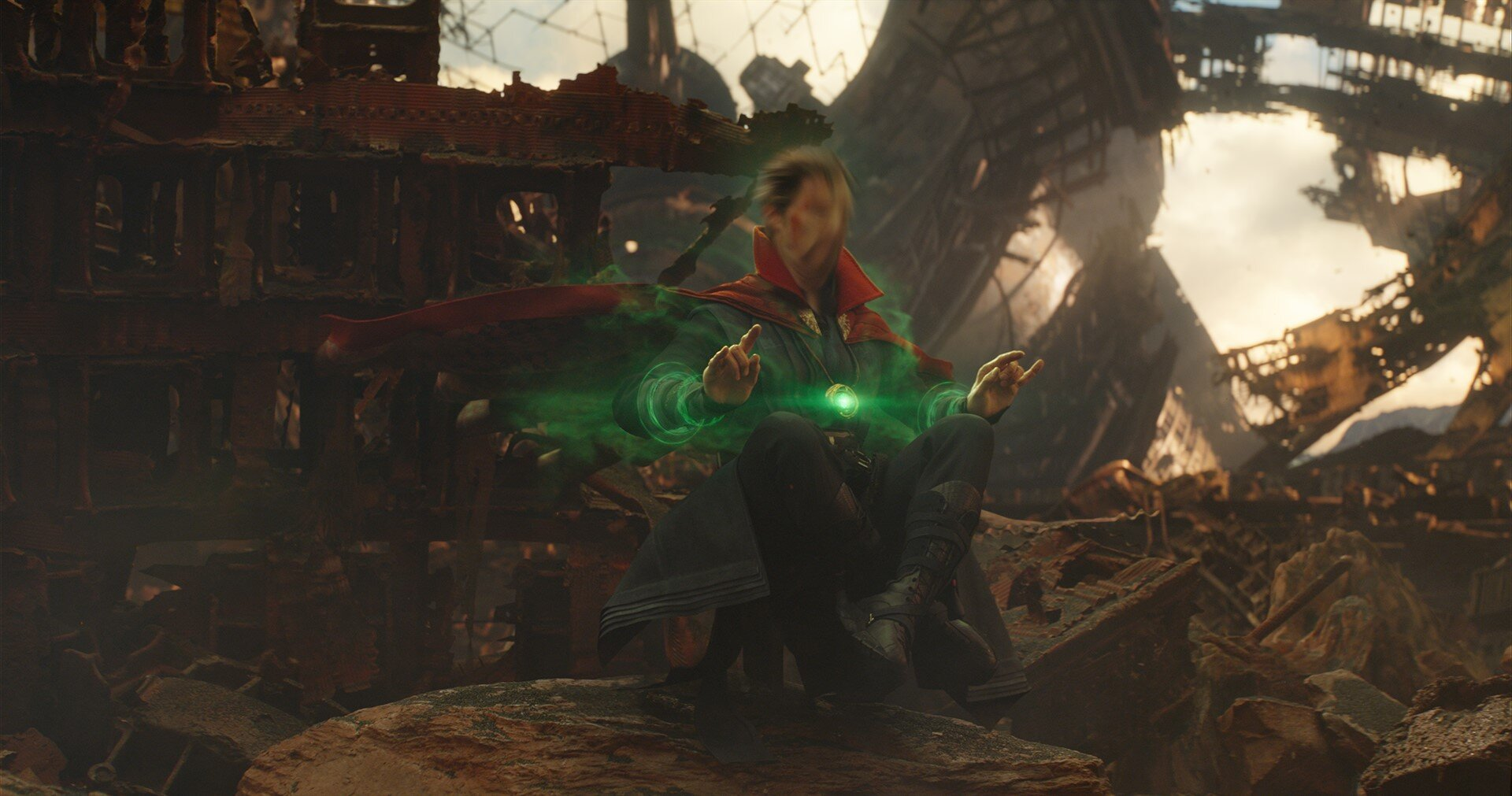 Eddy was used to create Dr. Strange's time warp effect, providing the Time Stone simulation and rendering.