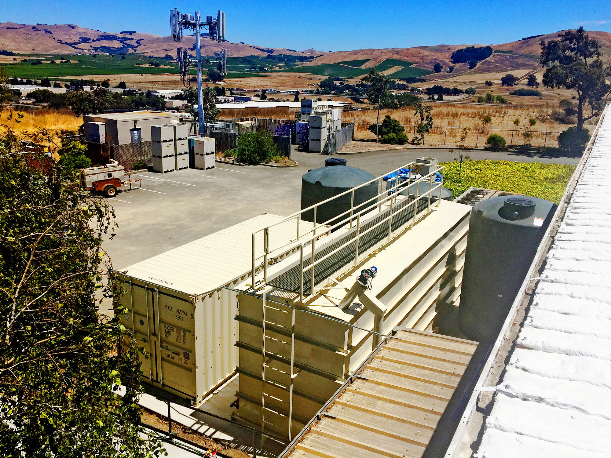 Application: MBR  Location: USA  Description: Treatment of winery wastewater in California