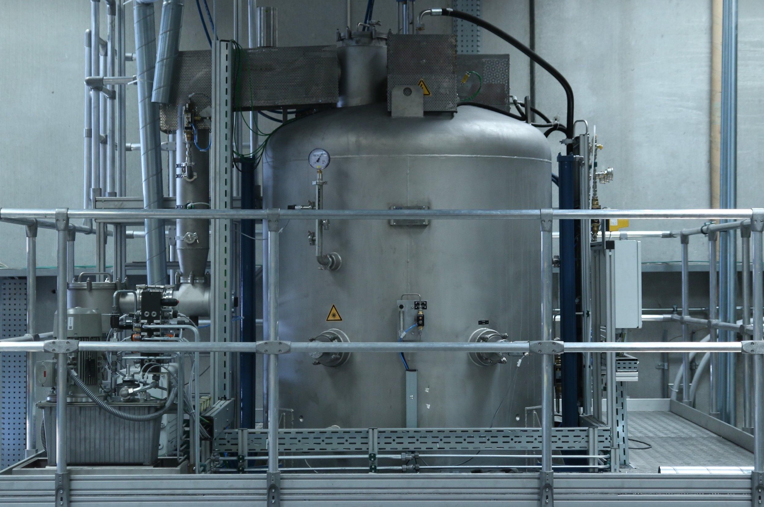 Sintering the Silicon Carbide membranes