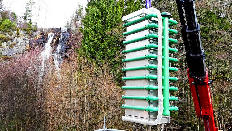 Application: Drinking water  Location: Sweden  Capacity: up to 5.000 m3/day  Description: Removal of Manganese from ground water in Sweden.